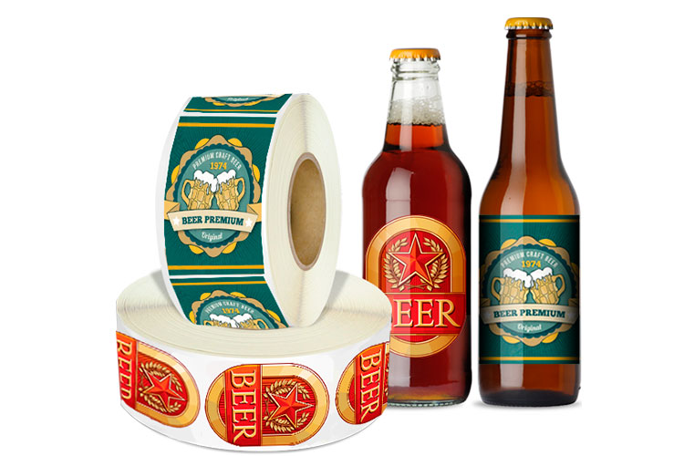 Roll Beer Labels