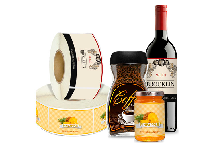 Roll Packaging Labels