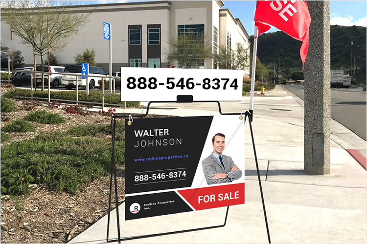 Real Estate A Frame