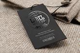 silk laminated spot uv hangtags