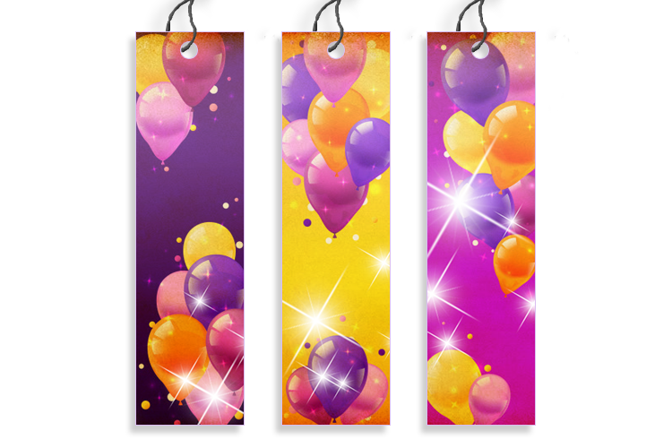 Gloss Laminated Bookmarks