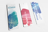 plastic bookmarks