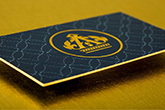 ultra thick silk laminated business cards
