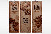 kraft bookmarks