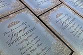 ultra thick diamond glitter invitations