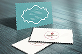 die cut any shape business cards