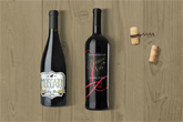 premium wine labels